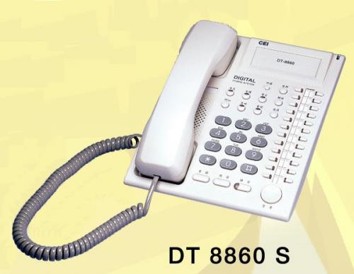 DT-8860S 萬國標準型數位話機(S)
