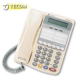 【TECOM 東訊】6鍵顯示型話機 SD-7706E