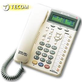【TECOM 東訊】10鍵顯示型話機 SD-7710E